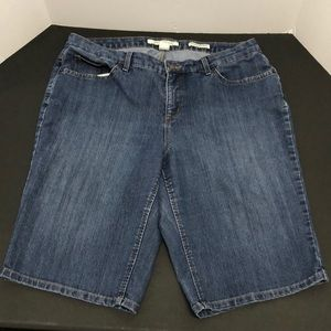 Jones NY Summer Sz. 18W Gramercy Curvy Shorts